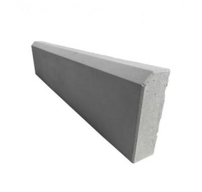 Бордюр тротуарный вибролитьевой 1000х220х75 мм серый