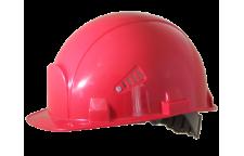 Каска строительная Росомз красная