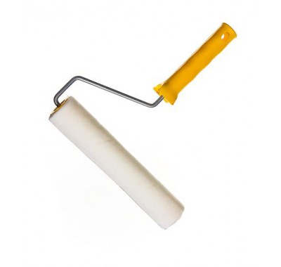 Валик велюровый 250 мм с рукояткой Бодрый маляр