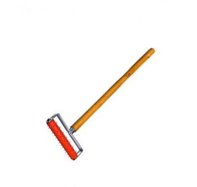 Валик игольчатый 150 мм игла 14 мм с рукояткой для ГКЛ