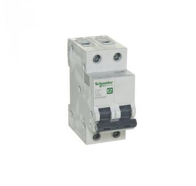 Автомат 2P, 25А, тип С, 4,5кА, Schneider Electric, Easy9