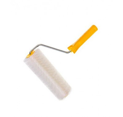 Валик игольчатый 250 мм игла 20 мм с рукояткой