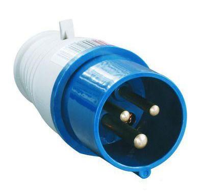 Вилка кабельная IEK 230В 2P+E 16А IP44