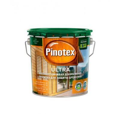 Антисептик Pinotex Ultra красное дерево-махагон 2.7 л