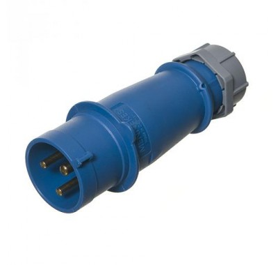 Вилка кабельная Мennekes 230В 2Р+E 32А IP44
