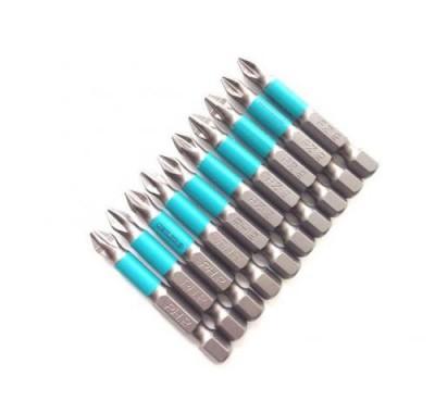 Бита магнитная Jettools Профи PH2 PZ2 50 мм набор(10 шт)