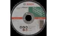 Круг отрезной по камню 115х22х3 мм Bosch Профи