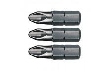 Бита Bosch PH (PH 1,2,3) 25 мм набор (3 шт)