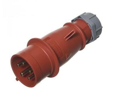 Вилка кабельная Mennekes 400В 3P+N+E 32А IP44