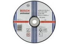 Круг зачистной по металлу Bosch 180х22х6 мм вогнутый