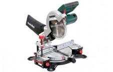 Пила торцовочная KS 216 M Lasercut 1100 Вт, 216x30 мм, Metabo