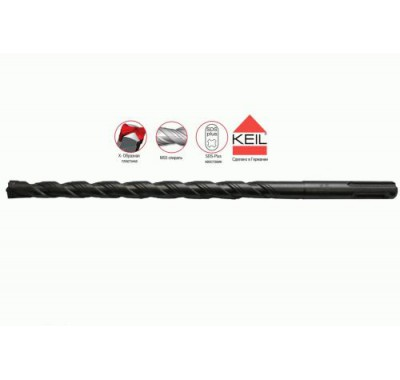 Бур SDS-plus Keil Профи 10х150/210 мм Xpro усиленный