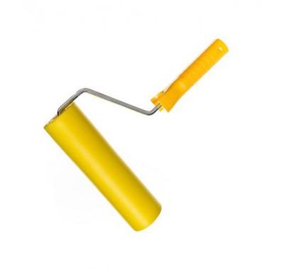 Валик для обоев резиновый 250 мм с рукояткой