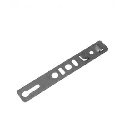 Анкерная пластина неповоротная для профиля Rehau 190х25х1.2 мм (10 шт)