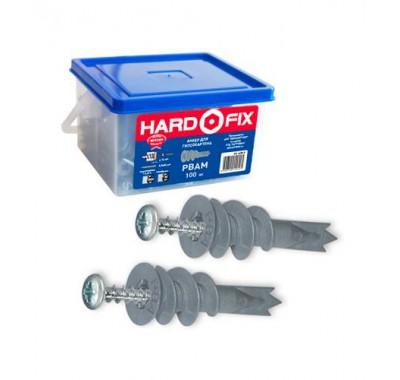 Анкер для листовых материалов Hard-Fix PBAM усиленный, стеклонаполненный нейлон (100 шт)