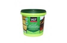 Лак антисептик акриловый VGT белый 9 кг