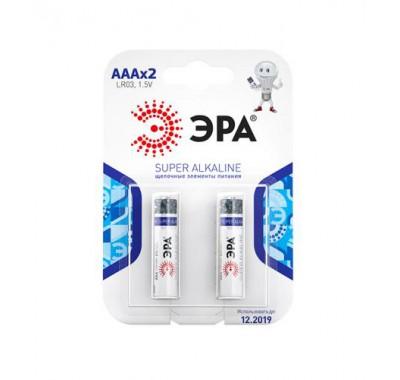 Батарейки LR6(АА), 2шт, ТРОФИ