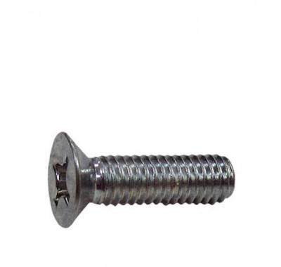 Винты оцинкованные М6х30 мм DIN 965 потайная головка (9 шт)