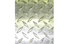 Лист алюминиевый рифлёный Бриллиант 1200х600х1.5 мм