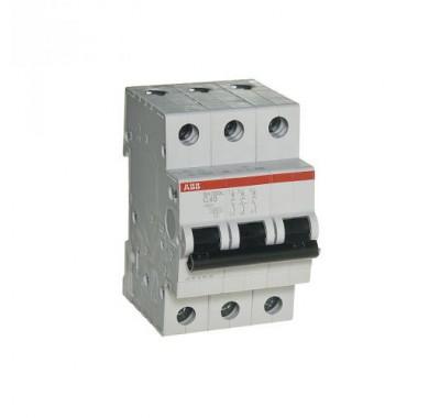 Автомат 3P, 40А, тип С, 4.5кА, ABB, SH203L