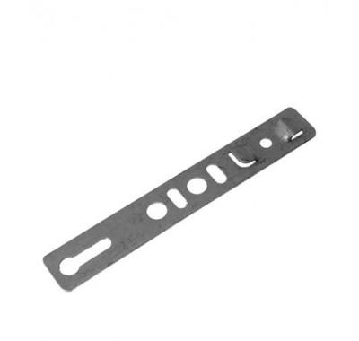 Анкерная пластина неповоротная для профиля Rehau 150х25х1.2 мм (10 шт)
