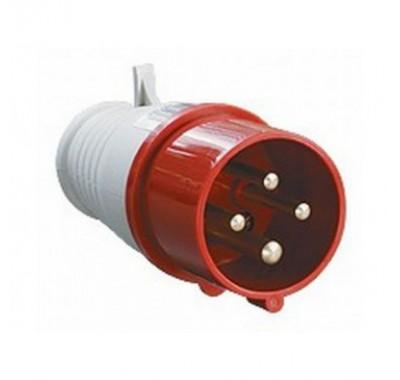 Вилка кабельная IEK 400В 3P+E 32А IP44