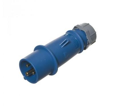 Вилка кабельная Мennekes 230В 2P+E 16А IP44