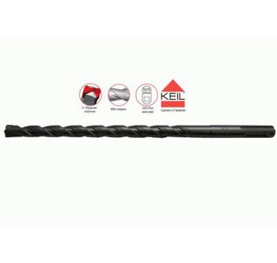 Бур SDS-plus Keil Профи 10х100/160 мм Xpro усиленный