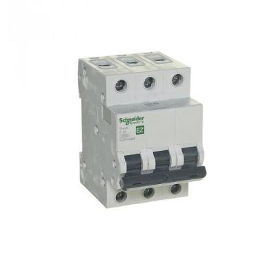 Автомат 3P, 25А, тип С, 4,5кА, Schneider Electric, Easy9