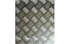 Лист алюминиевый рифленый Квинтет 1200х300х1.5 мм
