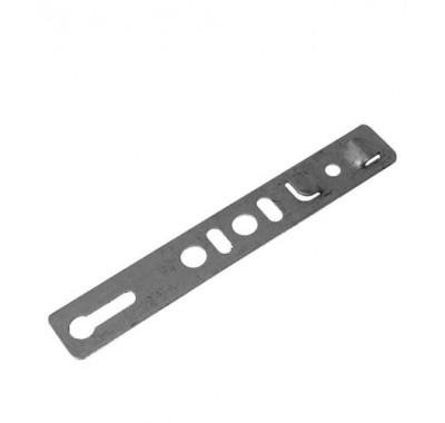 Анкерная пластина неповоротная для профиля Rehau 250х25х1.2 мм (10 шт)