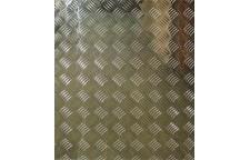 Лист алюминиевый рифленый Квинтет 600х600х1.5 мм