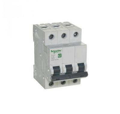 Автомат 3P, 40А, тип С, 4,5кА, Schneider Electric, Easy9