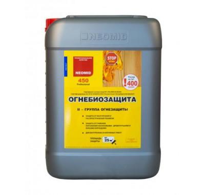 Антисептик Неомид 450 огнебиозащита 2 группа 10 кг
