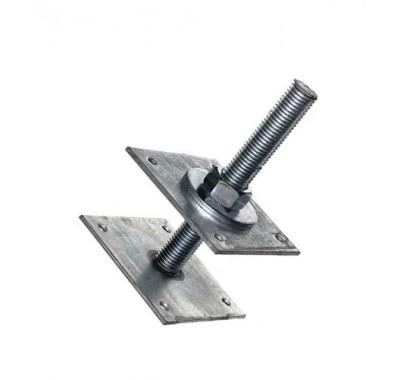 Анкер регулировочный М24 h200 120х120х4мм