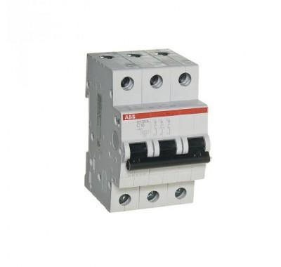 Автомат 3P, 10А, тип С, 4.5кА, ABB, SH203L