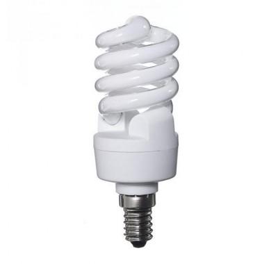 Энергосберегающая лампа Osram E14 12W MiniTwist 2700K теплый свет